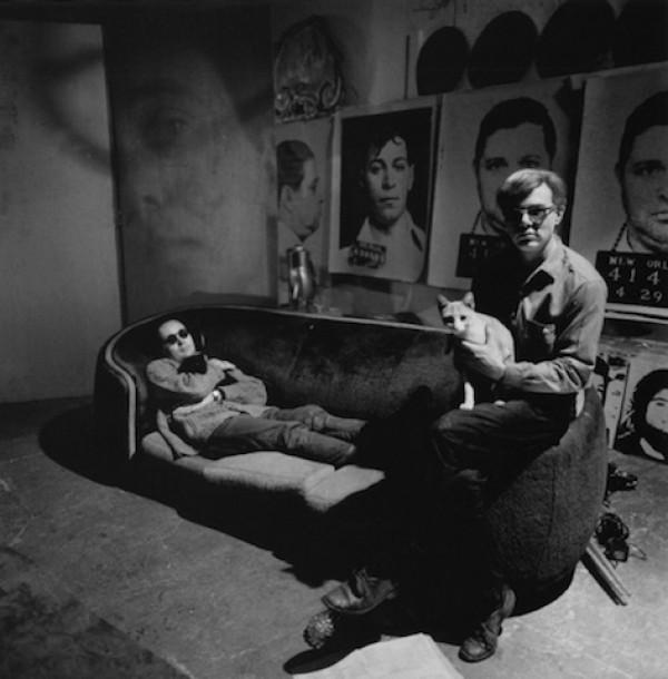 Andy Warhol. Poze de colecție cu artiști si pisici