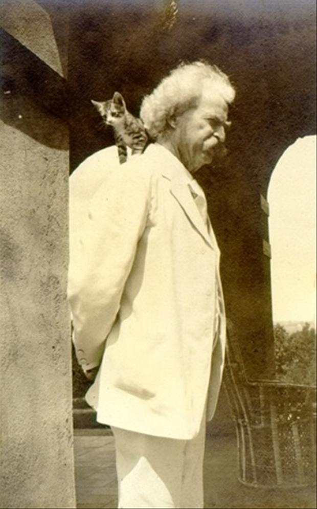 Mark Twain Via dumpaday.com