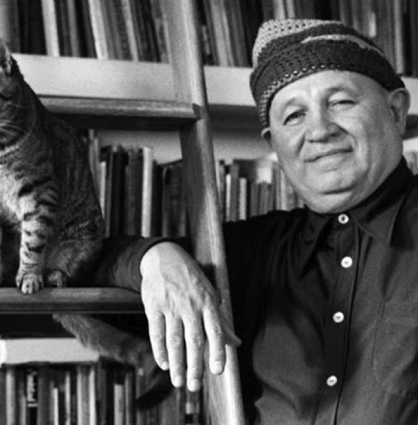 Romare Bearden hanging out with Gippo